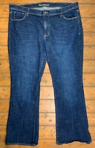 Old Navy The Sweetheart Bootcut Jeans Womens Plus 18 Regular Blue Denim Stretch