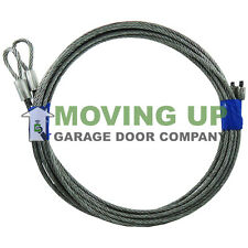 Pair of Cables for 8' Garage Door Torsion Springs High Quality 7X19