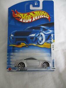Hot Wheels 2002 First Editions Nissan 350 Z PR5s Wheels Mint In Card