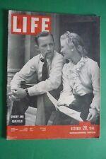 Magazine LIFE OCTOBER 28 1946 BING CROSBY JOAN CAULFIELD BLUE SKIES ANITA COLBY