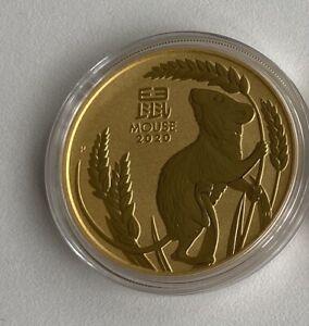 Lunar III 2020 Maus 1/4 Oz Gold Australien 1/4 Unze 999,9
