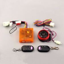 Motorcycle Anti-theft Security Alarm System Remote Control Engine Start 12V #WU1