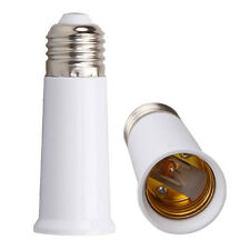 E27 to E27 95mm Socket Extend Base Light Bulb Lamp Cap Adapter Converter Holder