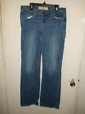 Women's Abercrombie & Fitch Denim Blue Jeans - Size 6R W 28 L 33 - Lot B