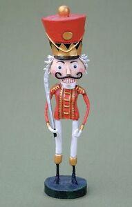 LORI MITCHELL ~ The Nutcracker ~ Folk Art Christmas Figure~ Free Shipping