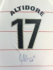 JOZY ALTIDORE USA NATIONAL TEAM MLS TORONTO FC SIGNED SOCCER JERSEY W/PROOF
