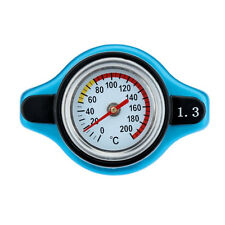 Small Head / 1.3 Bar Racing Car SUV Thermost Radiator Cap Cover Water Temp Meter