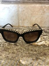 Marciano Studded Brown Cat Eye Sunglasses