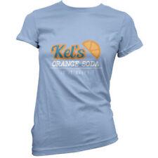 Magliette da donna arancioni basici