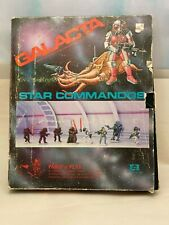 Vintage 1980 Heritage GALACTA STAR COMMANDOS Paint 'n' Play Sci-Fi Role Game