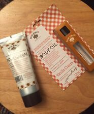 VALENTINES DAY GIFT MOM Bolero Natural Body Oil Cream Set Vanilla Bath Lotion FS