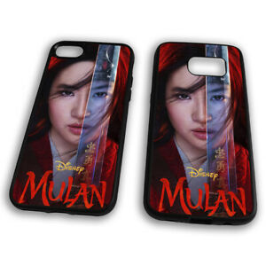 Mulan Disney Princess Li Shang Mushu Hard Clip Phone Case
