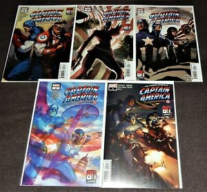 THE UNITED STATES OF CAPTAIN AMERICA 5-Issue Set by Christopher Cantwell