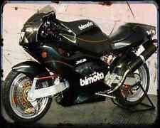 Bimota Tesi Id904Ef 94 2 A4 Metal Sign Motorbike Vintage Aged