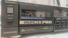 TECHNICS RS-B608R SINGLE DOLBY HX PRO DBX AUTO REVERSE STEREO CASSETTE DECK