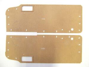 Pair of Door cards for Jaguar XJS 1981-1991 (serie 2.)