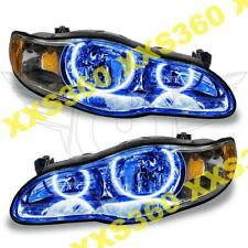 ORACLE Halo 2x HEADLIGHTS for Chevrolet Monte Carlo 00-05 BLUE LED Angel Eyes