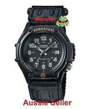 AUSSIE SELLER CASIO WATCHES FORESTER FT-500WC-1B LED LIGHT 12-MONTH WARANTY