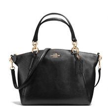 NWT Coach F36675 F26917 F28993 Pebble Leather Sm Kelsey Satchel Handbag Black