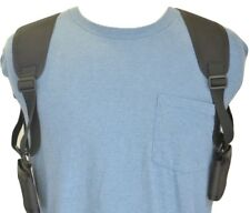 """Shoulder Holster For Two Cell Phones - PHONES UP TO 5 1/2"""" TALL AND 3"""" WIDE"""