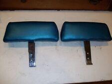 1968-1969 Corvette original headrests-Recovered-NICE!!
