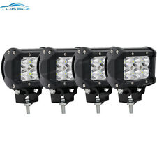 4x 4INCH 72W CREE LED WORK LIGHT BAR SPOT OFFROAD ATV FOG TRUCK LAMP 4WD 12V 6""