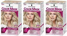 3 x Schwarzkopf Color Mask Permanent Colour 910 Pearl Blonde