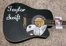 TAYLOR SWIFT SIGNED CUSTOM FOLKLORE 1/1 Autographed GUITAR CERTIFIED JSA COA