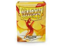 Yellow Matte 100 ct Dragon Shield Sleeves Standard Size FREE SHIPPING 10% OFF 2+