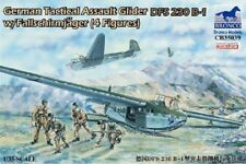 Bronco cb35039 WWII German Glider DFS 230 b-1 w/4 paracaidistas en 1:35