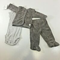 CARTER/'S 4 Piece MULTICOLOR BOYS OUTFIT LAYETTE SET DADDY/'S ALLSTAR NWT SO CUTE!