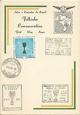 New listing BRAZIL 1970 Soccer FOOTBALL WORLD CHAMPIONSHIP on HM S.Sheet