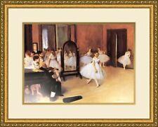 """ART PRINT POSTER 11/"""" X 14/"""" DANCE REHEARSAL 1874 DEGAS EDGAR 2045"""