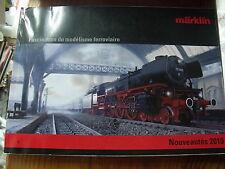 µ?  Catalogue Marklin Fascination du modelisme ferroviaire Nouveaute 2010