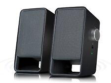 SPEEDLINK VIORA USB Stereo Speakers, Lautsprecher Subwoofer F1/F3-9533