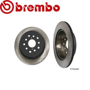 For Lexus RX330 RX350 RX400h Disc Brake Rotor Rear 3.3L V6 Brembo 4243148050