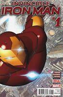 Invincible Iron Man #1 Vol 3 2015 1st Print Marvel Comics Bendis Marquez