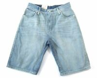 Levi's 569 Men's Premium Cotton Loose Straight Denim Shorts Blue 355690093