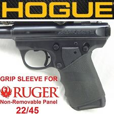 BLACK Hogue Rubber Handall Grip Sleeve for RUGER 22-45 MARK MK III 3 LITE grips