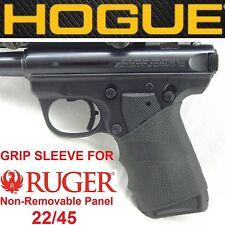 BLACK Hogue Rubber Grip Sleeve for RUGER 22-45 MARK MK III 3 LITE grips