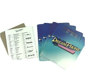 Dream Phone Game Parts Pieces Cards Clue Sheet Holders