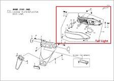 Genuine Blur SS220i PGO GMAX G Max Genuine Tail Light Rear Lamp Assy MOTOfunSHOP
