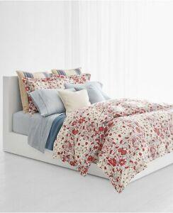 Ralph Lauren Kelsey Bohemian Floral 4P King comforter Shams Set