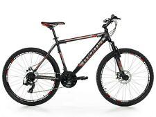 "Bicicletta Montagna Mountain Bike 26"" MTB Allum. Shimano 2x Disco, Sosp."