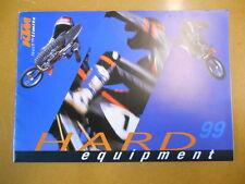 1999 KTM Hard Equipment Catalog