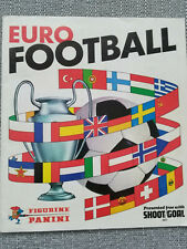 Panini Euro Football 1977 100% Complete Sticker Album Original