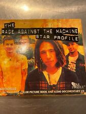 Star Profile Rage Against the Machine Interview CD and Book Box Set Import
