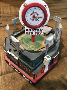 Boston Red Sox Forever Collectibles Legends Of The Diamond Fenway Park Clock