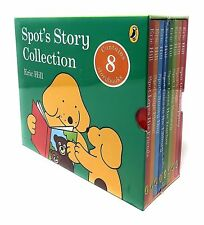 8 X Spot The Dog Hardback Books Spot's Story Collection Eric Hill BOXSET