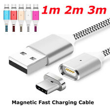 1M 2M 3M Magnetic Adapter Charger Type C USB Charging Cable For Samsung S8 Note8